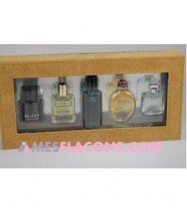 Coffret fragrances masculines