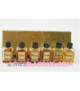 Coffret ancien Fragonard ( 6 essences )
