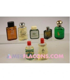 Lot de 7 miniatures masculines (marques diverses)
