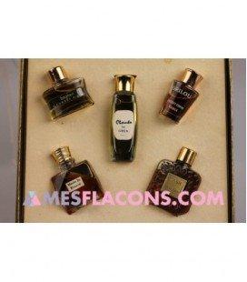 Coffret - Five precious perfumes of France