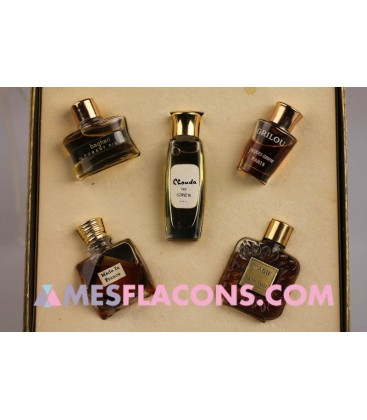 Coffret - Five precious perfumes of France