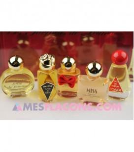 Coffret comprenant 5 miniatures