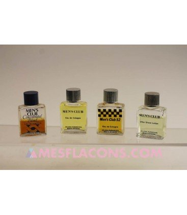 Lot de 4 miniatures masculines (variantes différentes)