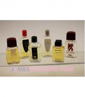 Lot de 6 miniatures masculines, variantes différentes