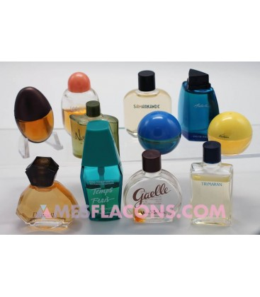 Lot de 11 miniatures mixtes (variantes différentes)