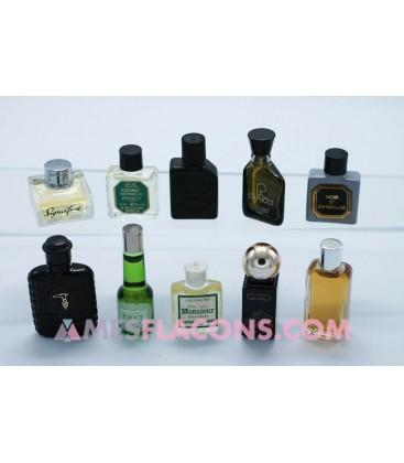 Lot de 10 miniatures masculines (marques diverses)