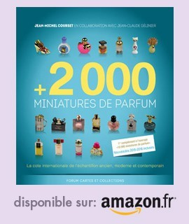 +2000 miniatures de parfum disponible chez Amazon